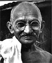 Foto de Mahatma Gandhi