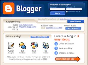 Criar um blog é grátis e simples