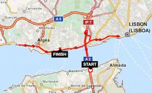 Meia maratona: o tempo passa a correr