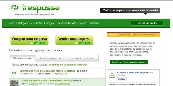 Um dos meus sites preferidos: Trespasse.com