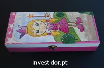 Caixa de artes decorativas