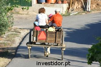 foto de passeio de carroça