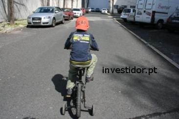 bicicleta em movimento