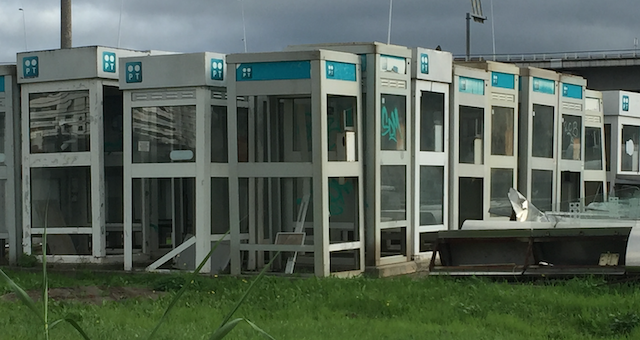 cabines telefónicas