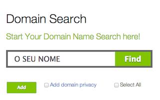 O 1º domínio de internet que se deve registar