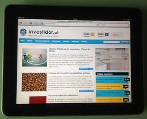 Uma iniciativa com boas probabilidades para ganhar um iPad