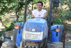 foto de um agricultor