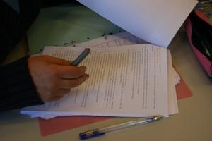 Organização através de planos de trabalho