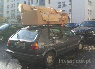 Negócio do transporte de mercadorias. Entregas e recolhas.